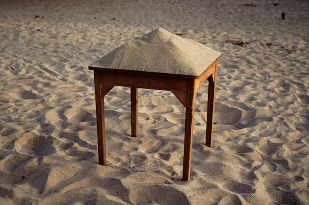 Sand on Table
