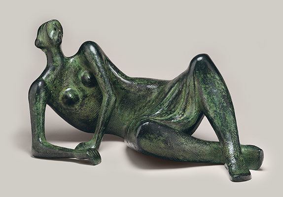Reclining Figure, No. 4