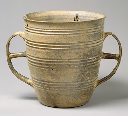 Double-handled vessel
