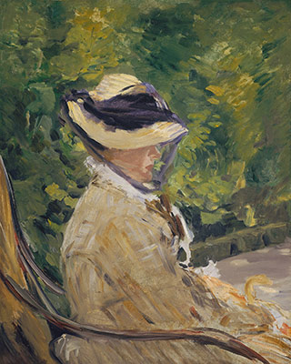 Madame Manet (née Suzanne Leenhoff, 1830–1906) at Bellevue