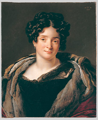 Madame Jacques-Louis Etienne Reizet (Colette-Desiree-Therese Godefro, 1782-1850)