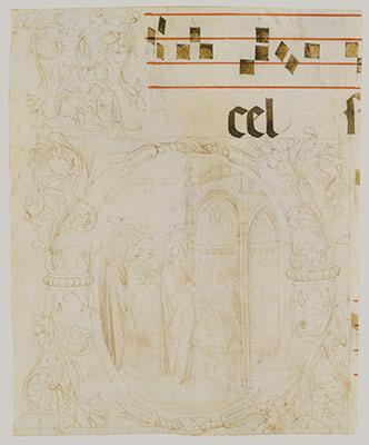 drawing in the middle ages essay heilbrunn timeline of art  decorated initial scene of christ entering the temple