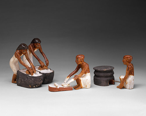 Model Bakery and Brewery from the Tomb of Meketre