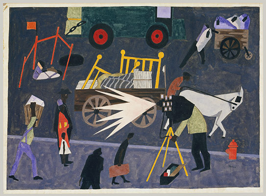 Modern Storytellers Romare Bearden Jacob Lawrence Faith