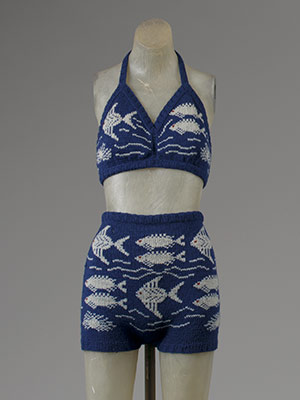 Two-piece bathing suit