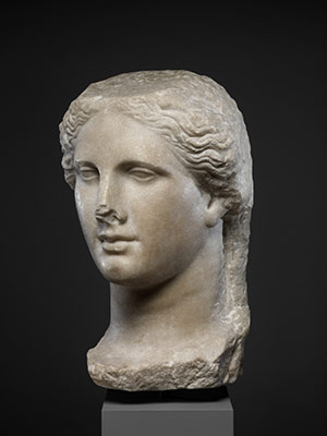 Head of a Ptolemaic queen