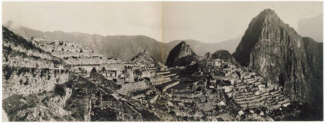 [Panorama of Machu Picchu]