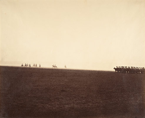[Cavalry Maneuvers, Camp de Chalons]