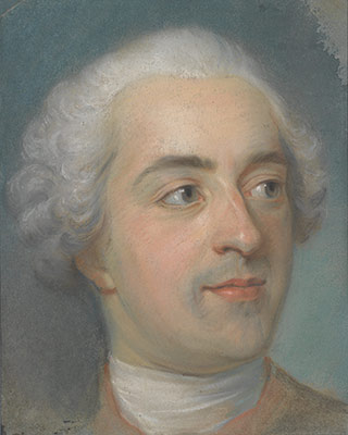 Prèparation for a Portrait of Louis XV (1710–1774)