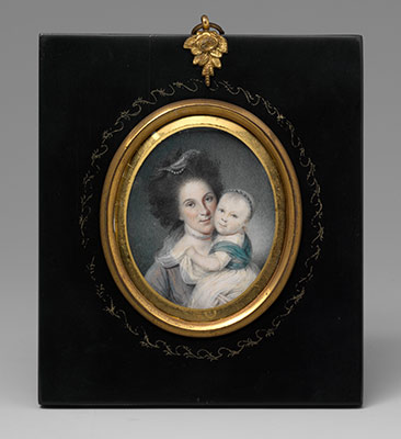 Mrs. Charles Willson Peale (Rachel Brewer) and Baby Eleanor