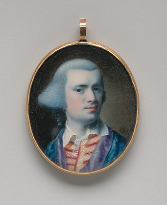 Self-portrait miniature