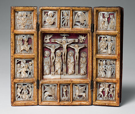 Triptych with the Passion of Christ