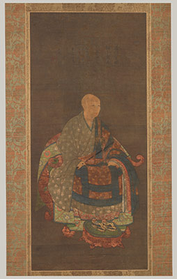Portrait of Shunoku Myōha (1311–1388)
