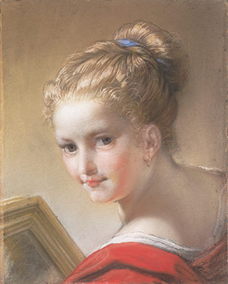 the eighteenth century pastel portrait essay heilbrunn study of a girl in red