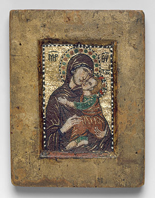 Portable Icon with the Virgin Eleousa