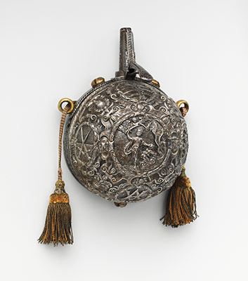 Priming Flask Made for Prince-Elector August I of Saxony (ruled 1553–86)