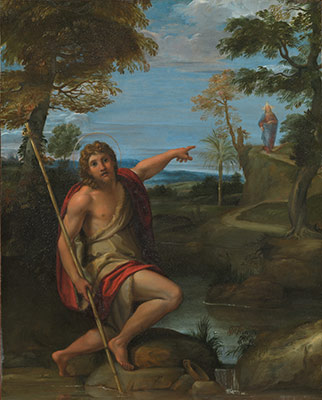 Saint John the Baptist Bearing Witness