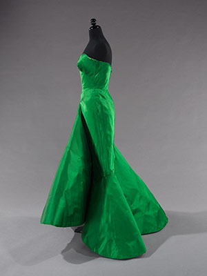 Ball gown | Charles James | 2009.300.3522 | Work of Art | Heilbrunn ...
