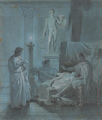 Virgil Reading the Aeneid to Augustus, Livia, and Octavia