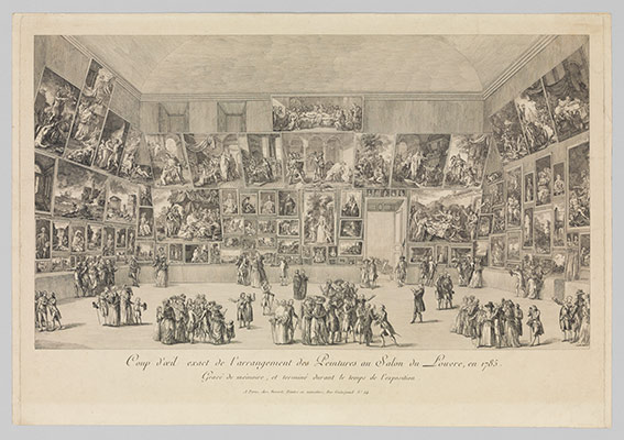 View of the Salon of 1785