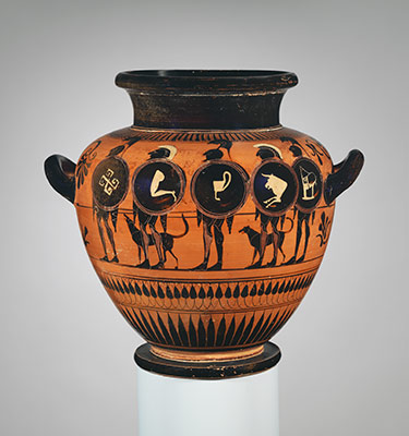 Terracotta Stamnos Jar Attributed To The Painter Of London B 343 2011 233 Work Of Art