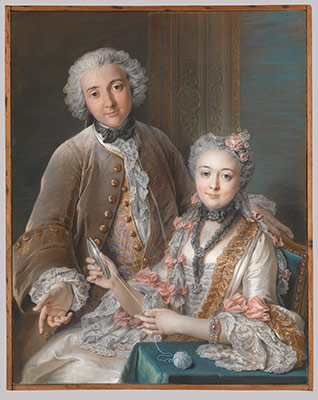 the eighteenth century pastel portrait essay heilbrunn double portrait presumed to represent franatildesectois de jullienne 1722 1754 and his wife