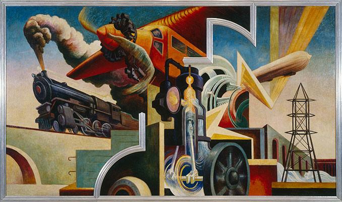 Thomas Hart Benton's America Today Mural | Essay | Heilbrunn ...
