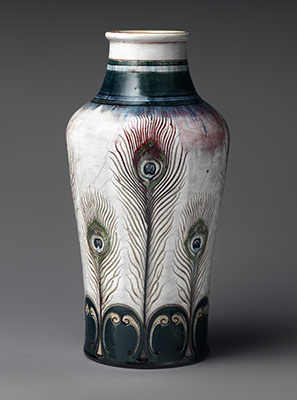 art nouveau  essay  heilbrunn timeline of art history  the  vase with peacock feathers