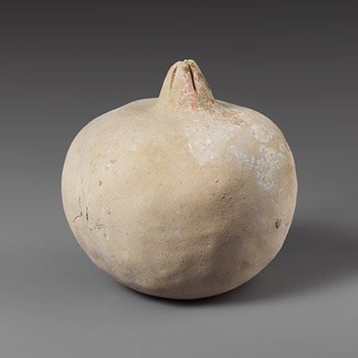 Terracotta pomegranate