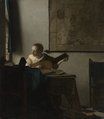Woman with a Lute