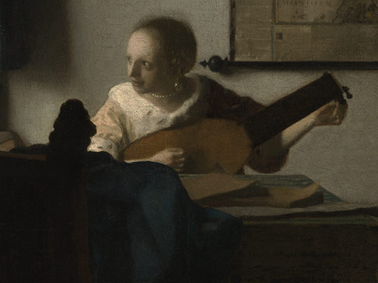 Young Woman with a Lute