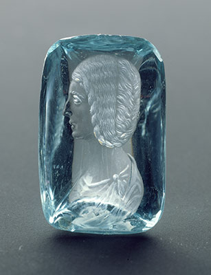 Intaglio with a portrait of Empress Julia Domna