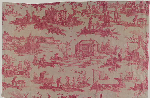 Textile Production in Europe: Printed, 1600–1800 | Essay | Heilbrunn