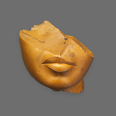 Fragment of a Queens Face