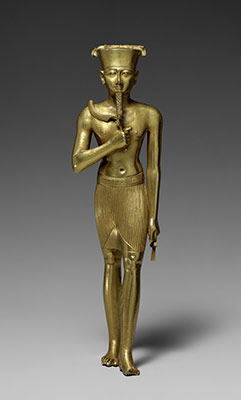 Statuette of Amun