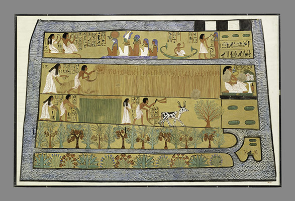 telling time in ancient essay heilbrunn timeline of art  sennedjem and iineferti in the fields of iaru tomb of sennedjem