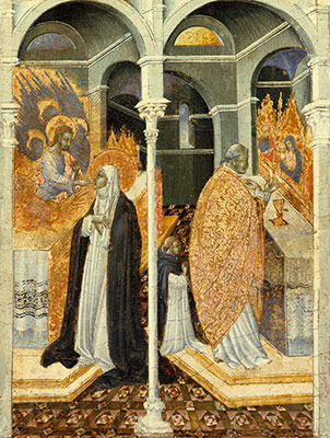 The Miraculous Communion of Saint Catherine of Siena