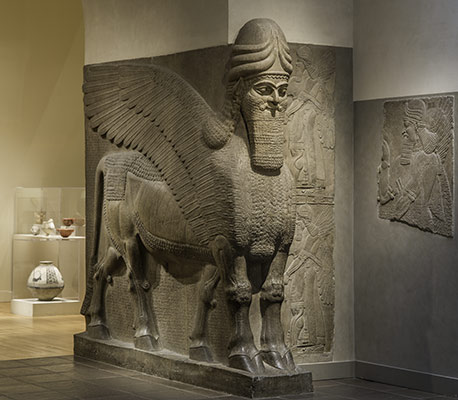 the rediscovery of assyria essay heilbrunn timeline of art  human headed winged bull and winged lion lamassu