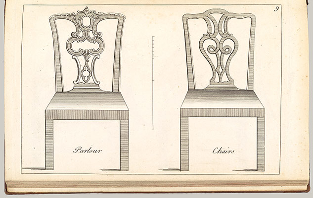 The Cabinet and Chair-Makers Real Friend and Companion, or, the Whole System of Chair-Making Made plain and easy