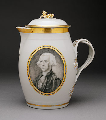 Toddy jug with portrait of George Washington