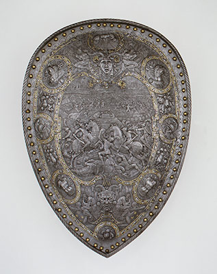 Shield of Henry II of France (reigned 1547–59)