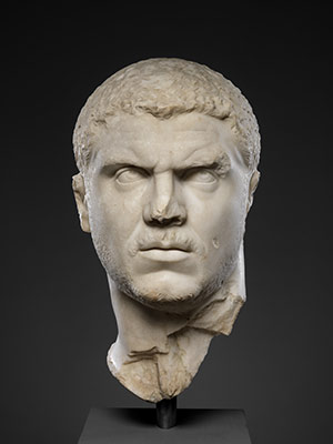 Portrait head of Emperor Marcus Aurelius Antoninus (called Caracalla)