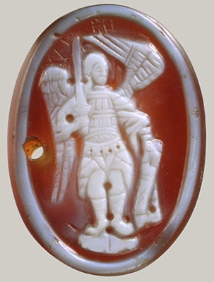 Cameo with the Archangel Michael