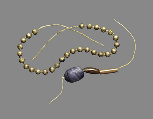 gold in ancient essay heilbrunn timeline of art history  necklace of gold ball beads
