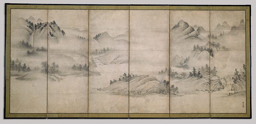 Landscape Of The Four Seasons Eight Views Xiao And Xiang Rivers