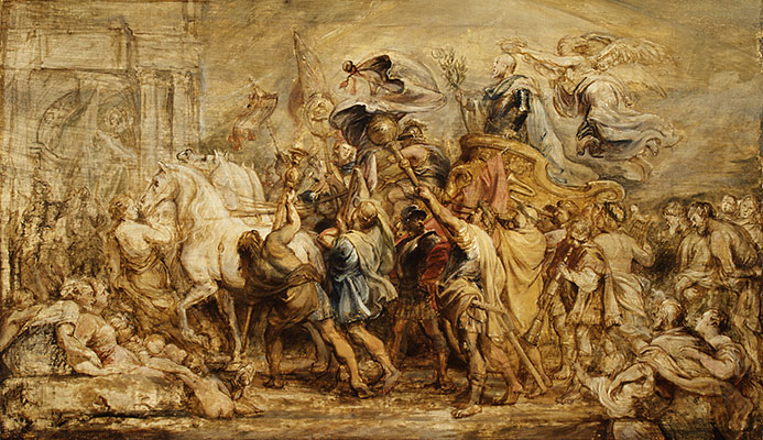 The Triumph of Henry IV, sketch