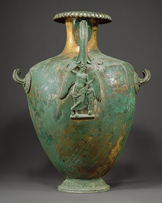 Bronze hydria (water jar)