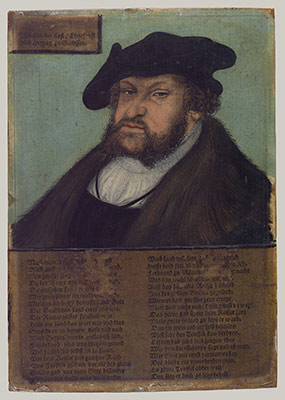 John I (1468-1552), the Steadfast, Elector of Saxony