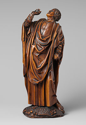 Saint John: One of a Pair of Figures from a Crucifixion