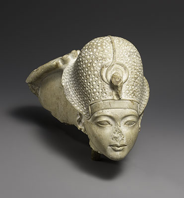 Head of Tutankhamun